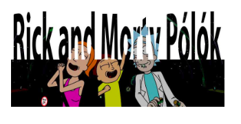 rick and morty póló
